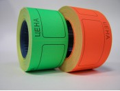 Ценник 20х30 мм (цветной)
